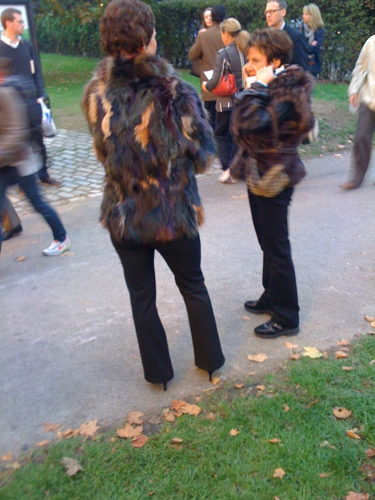 International Furred Greatnesses about to Enter Frieze Art Fair, London