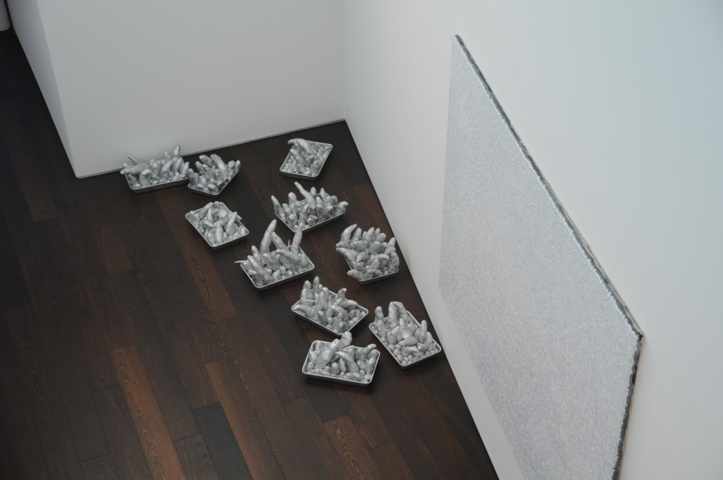 Penises and Painting by Yayoi Kusama - Painting liked by me: $200,000: photo by Multi