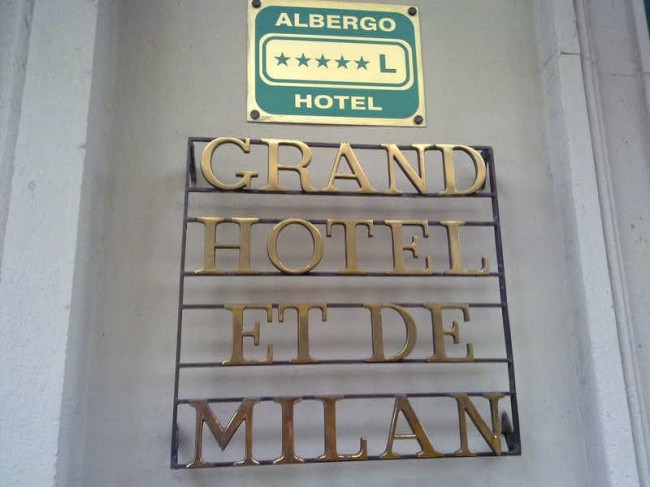 Comfy at Last - the Multis' Replacement Milan Hotel