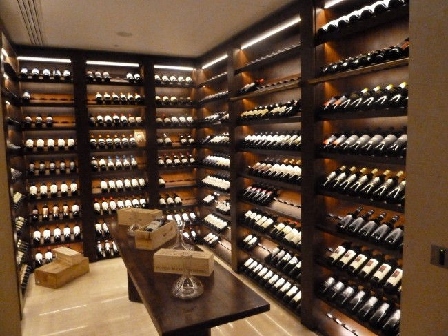 The Display Wine Cellar at L'Anima