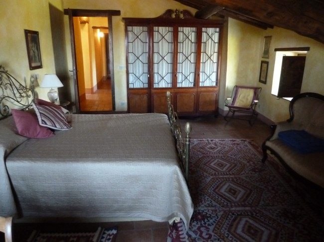 A Bedroom in the New Villa