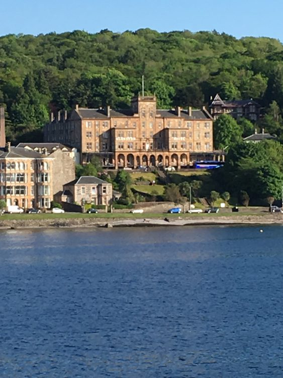 In this Hotel the Queen Stayed: Rothesay, Isle of Bute