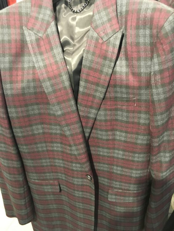 Topman Came up Trumps with the Tartan Frock Coat for Scotland Reduced to £90