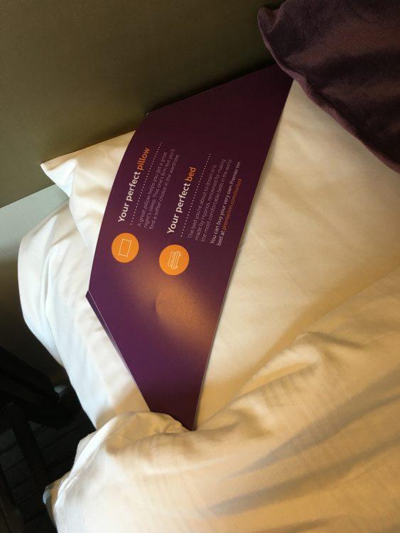 The Premier Inn: Odd Cardboard-in-Bed Aspect