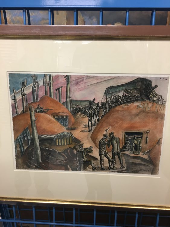 Wyndham Lewis: his Idea of 1st World War. What do you Think?