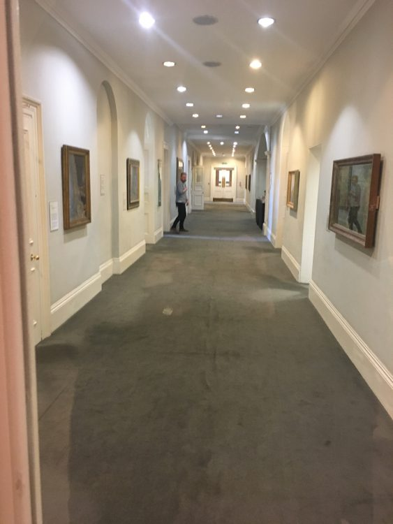 The Private Corridor at the Imperial War Museum