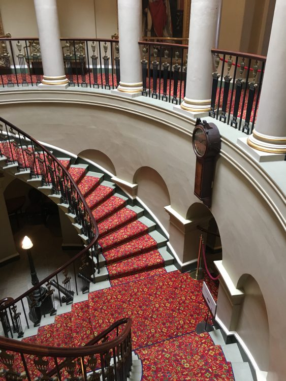 Culzean: the Staircase: What Directions
