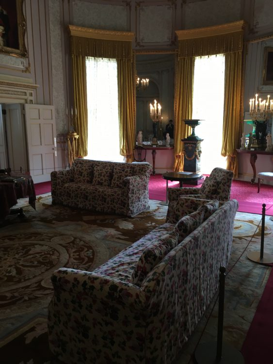 A Drawing Room at Frogmore: not Bad for Summerhouse