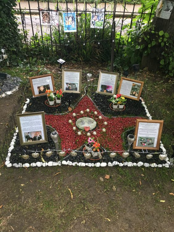 George Michael Shrine: HIghgate