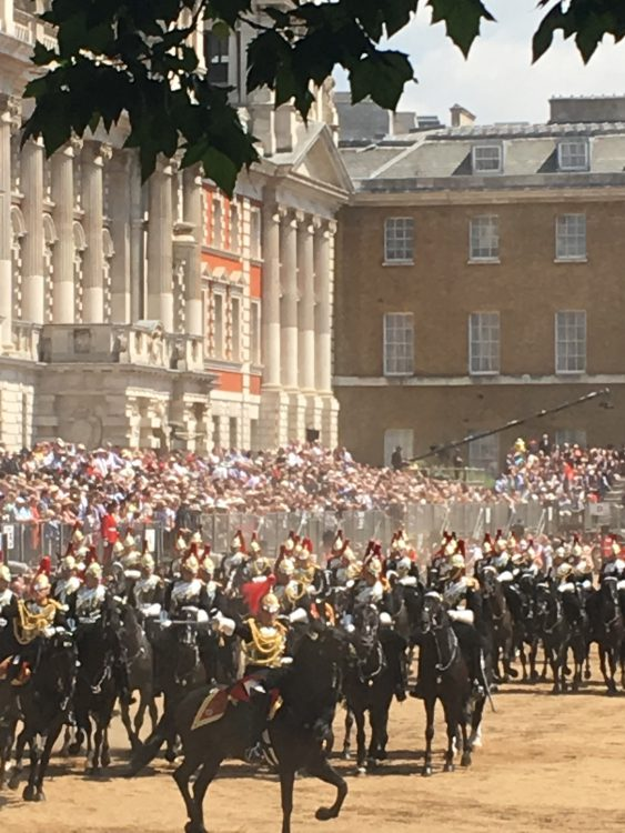 The Battle Scene at Trooping