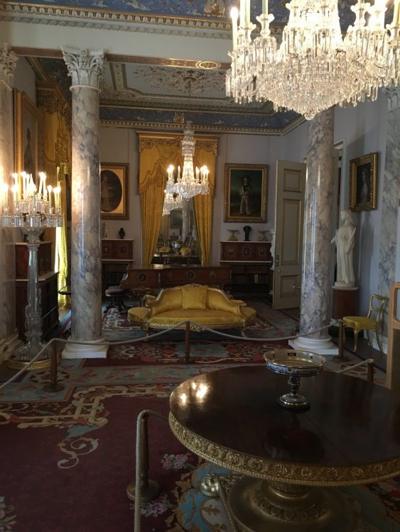 Osborne: the Drawing Room: Dividing Screen