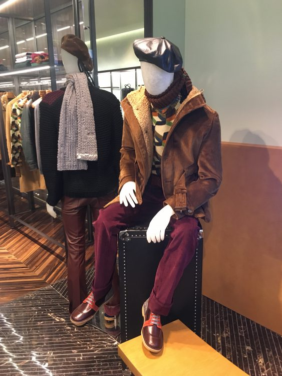 Prada Sitting Down - Hiking Outfit