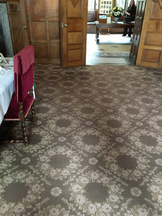 Nice Carpet in the Dining Room at Landhydrock
