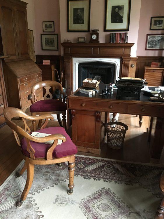 The Steward's Room, Landhydrock. We have a Steward too, but We Call him a Land Agent