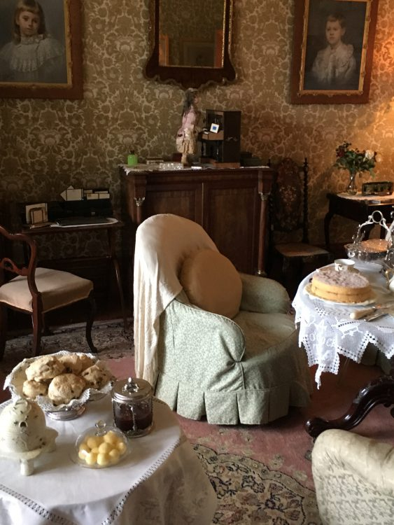 Classic Boudoir at Landhydrock: Complete and of Its Time
