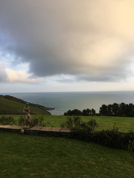 Goodbye to Cornwall: the Pre-Dinner View