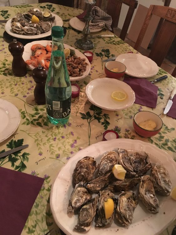 The New Year's Eve Seafood Course: So Light and Tripping