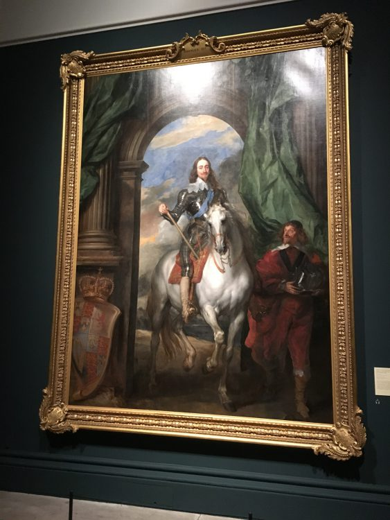 Charles 1 on Horseback by Van Dyck