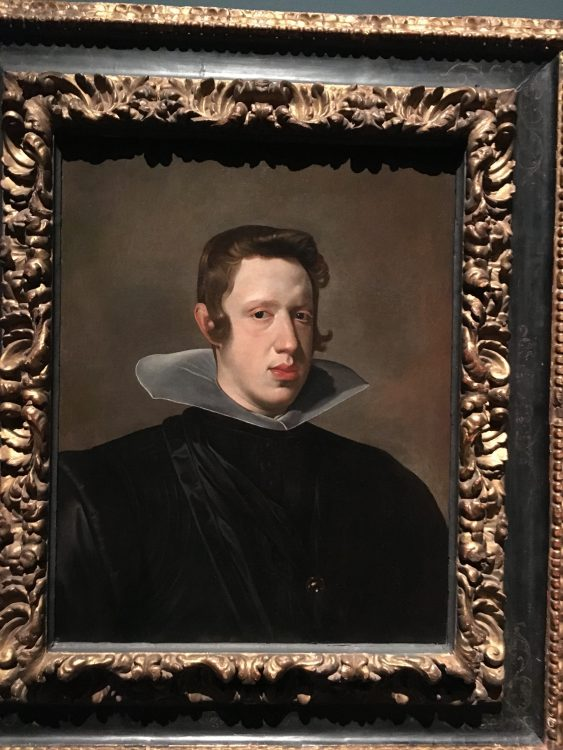 Spanish King by Velasquez: So Bizarre and Bare