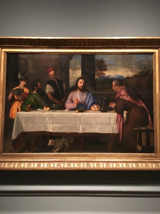Titian The Last Supper