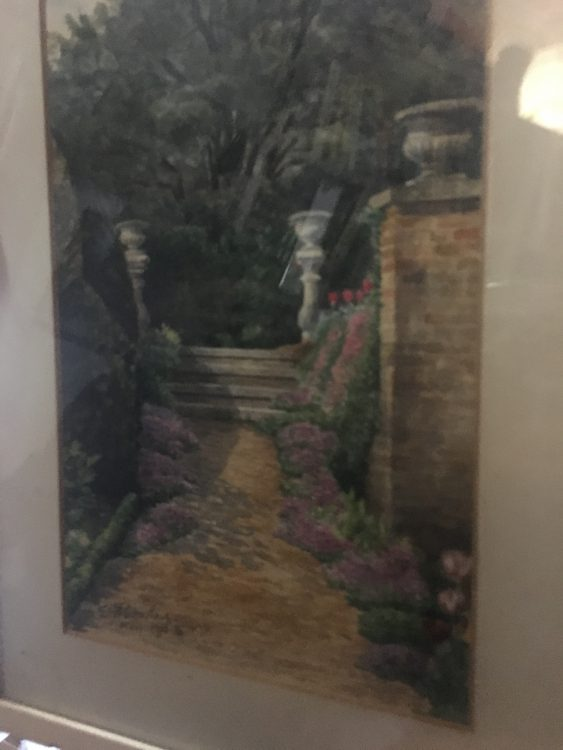 Some Private Paintings by E.A.Bowles: Royston Said they Must Buck up with their Exhibition for May