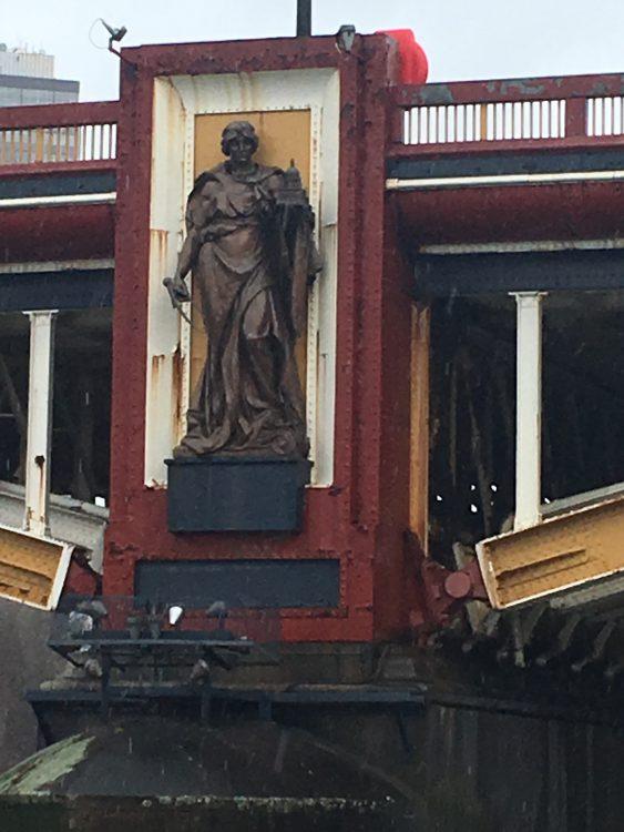 Vauxhall Bride: Her Unseen Statues