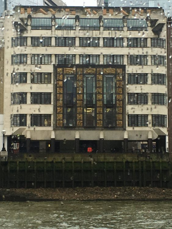 There is the Great Art Deco Building by Tower Bridge
