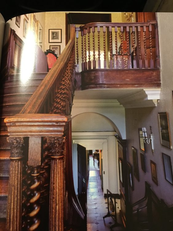Raynham Hall: the Non-Stone Stairs