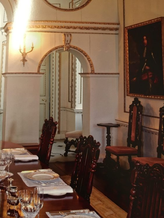 Raynham Hall: William Kent made this Arched Screen in the Dining Room