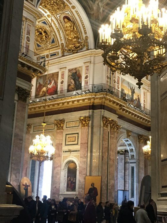 Interior: St Isaac's Cathedral, St Petersburg: How Could They Have Got Such an Important Building so Wrong?