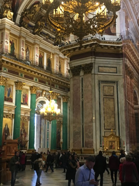 St Isaac's Cathedral: St Petersburg: Terror of Malecite