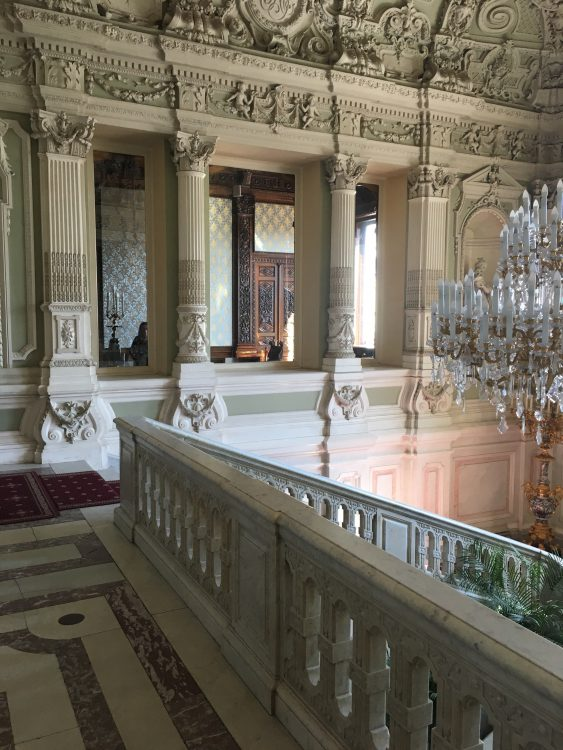 The Grand Staircase of the Youssapov Palace: V. Suitable
