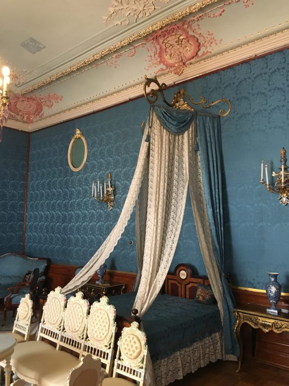 Youssapov Palace: Blue and Coral Bedchamber