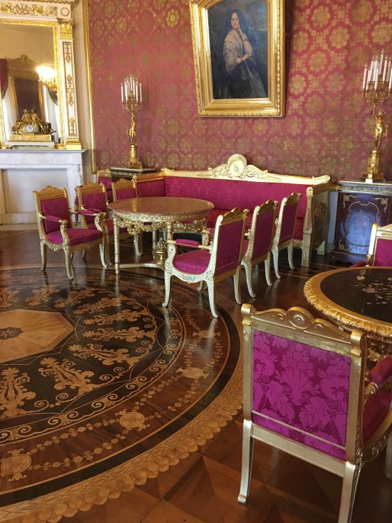 The Youssapov Palace: Metallic Drawing Room, Everything Matching