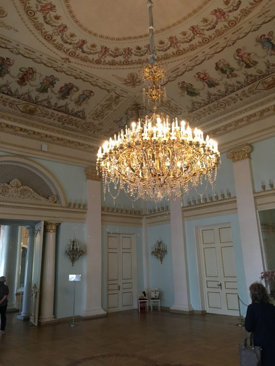 Youssapov Palace: A Quiet Meeting of Wings