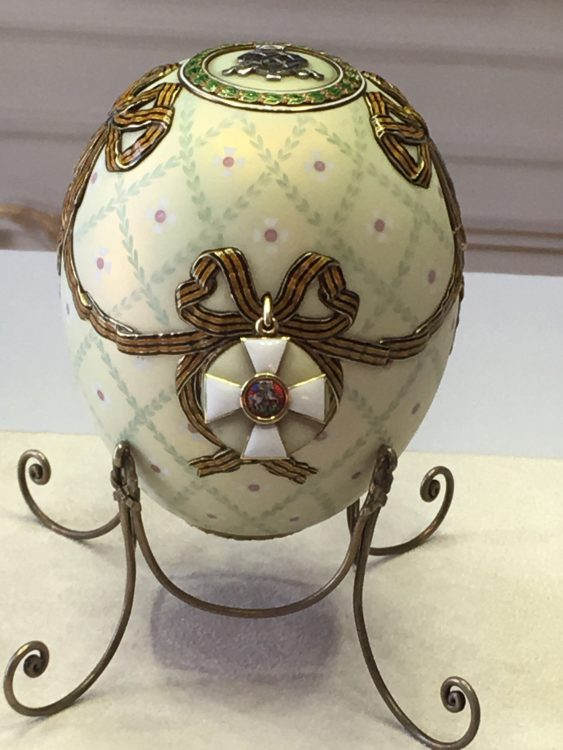 Bedroom Egg by Fabergé
