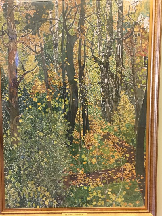 The Russian Museum: Alexander Golovin: Russian in the Springtime,as Opposed to From Russia with Love