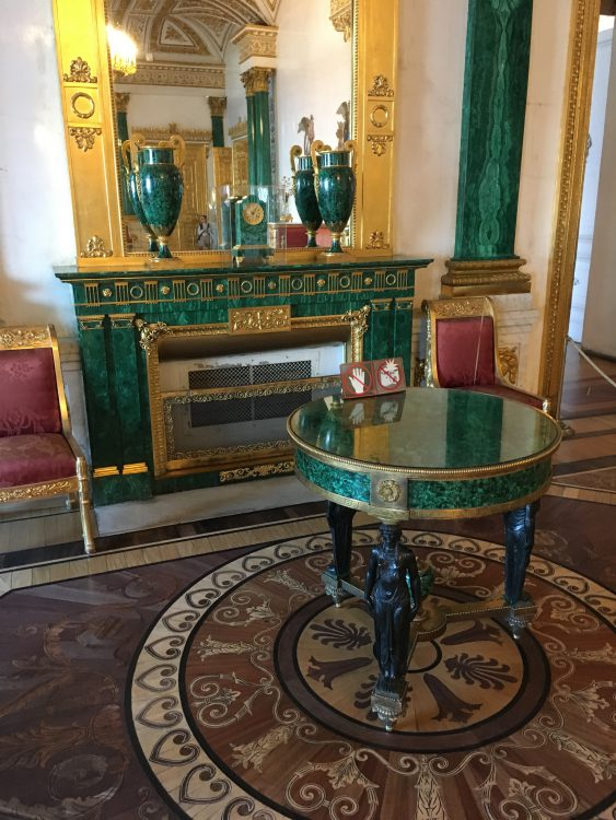 The Winter Palace: More Metal Drawing Room
