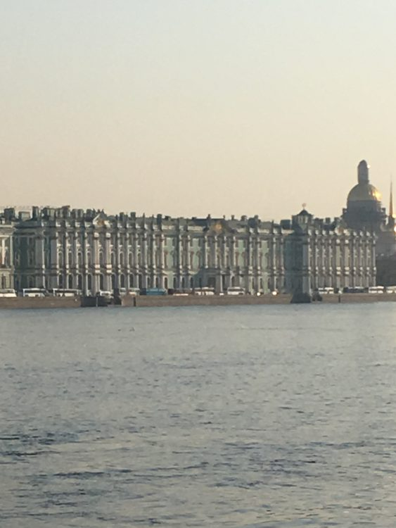 The Winter Palace Seen from the Other side of the Neva