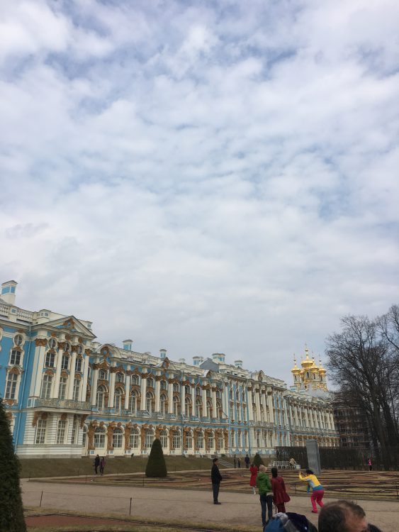The Catherine Palace: Not Exactly Summery