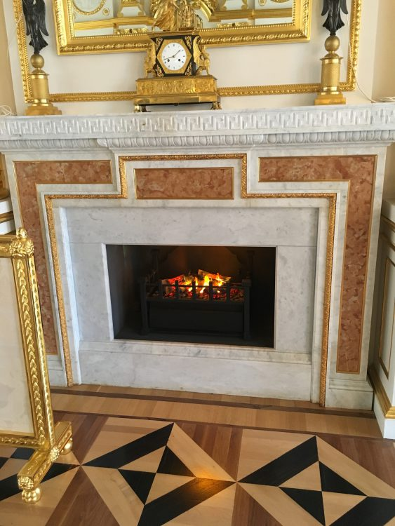 Fireplace: All Upside Down