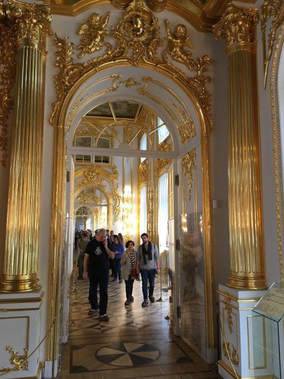 Catherine Palace: Doorway Treatment