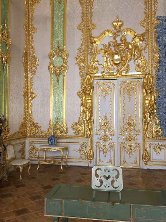 The Catherine Palace: Pink for a Change