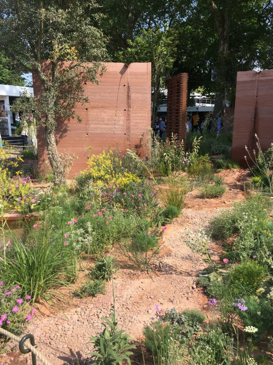 Compressed Earth Garden: Actually Quite Nice: Pointilist Planting, Tom Stuart Smith Said Privately