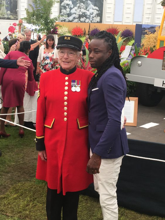 Who is this? Remember Laura Malcolm can't Stand the Chelsea Pensioners