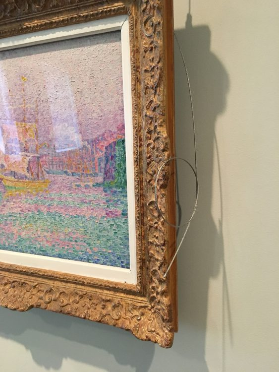 Wires on this Seurat