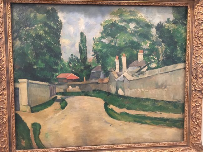 I think This Cezanne Totally Great: A Picture of Nothing but so Braced