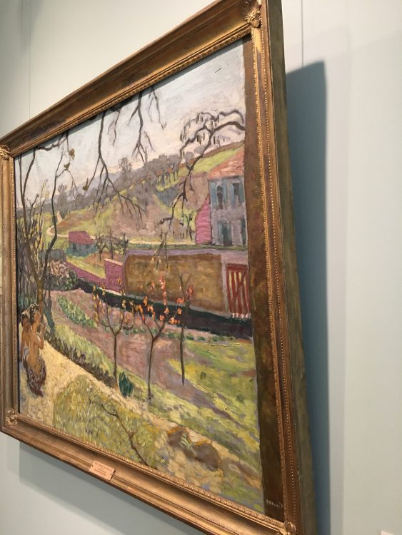 This Bonnard is Buckled: Lots of Bonnard, Whom I Didn't know. Splotchy but that's the Point