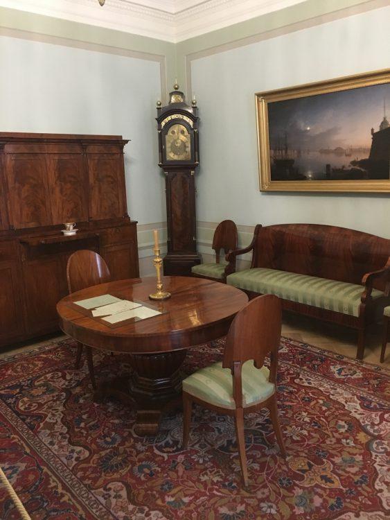 Puskin's Flat: the Lounge Area