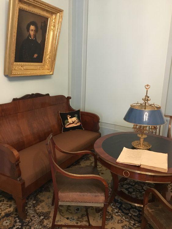 Puskin's Flat: Sofa